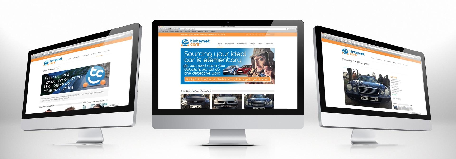 Tinternet Cars Website