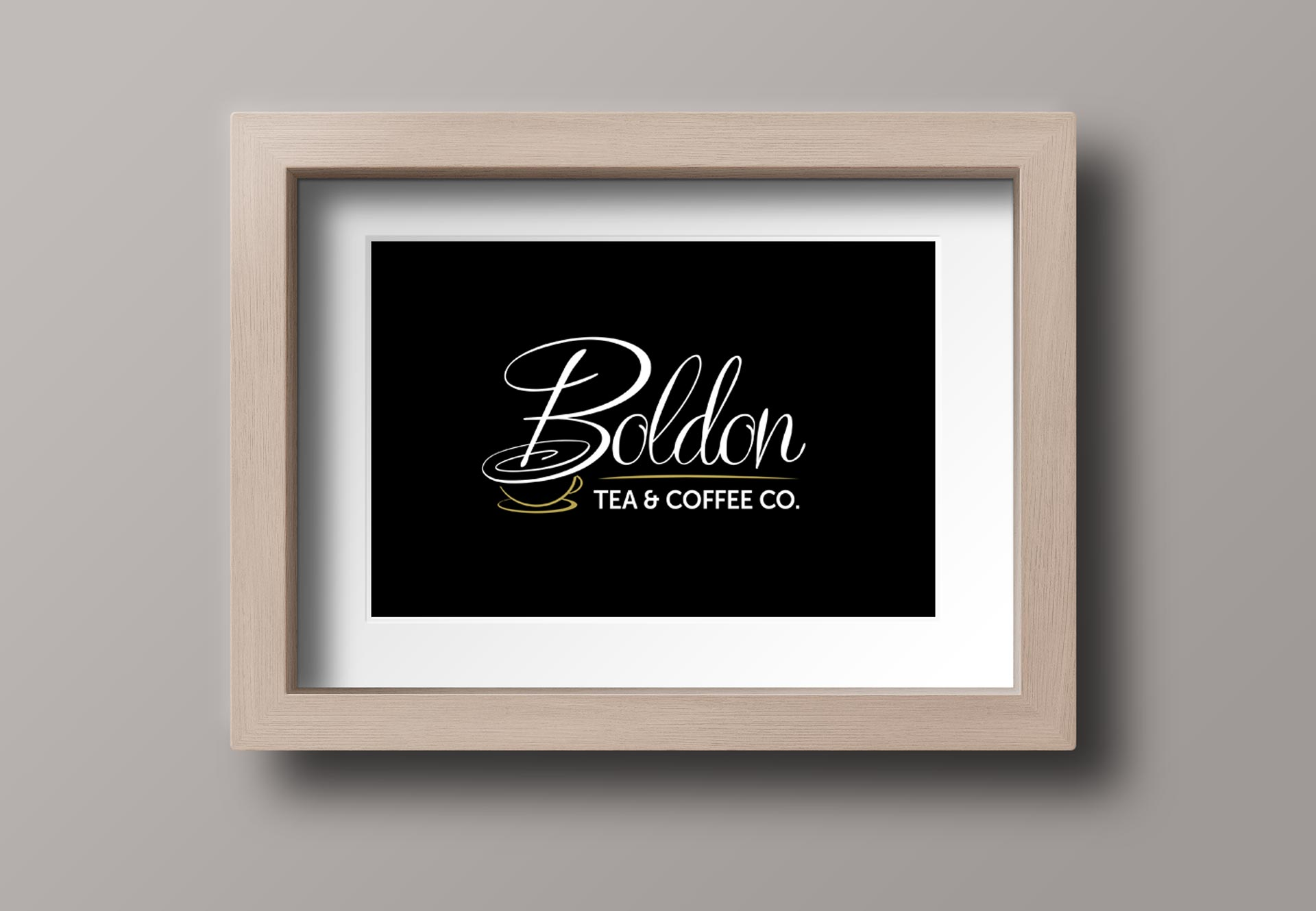 Bespoke Affordable Logo Design - Boldon Tea and Coffee