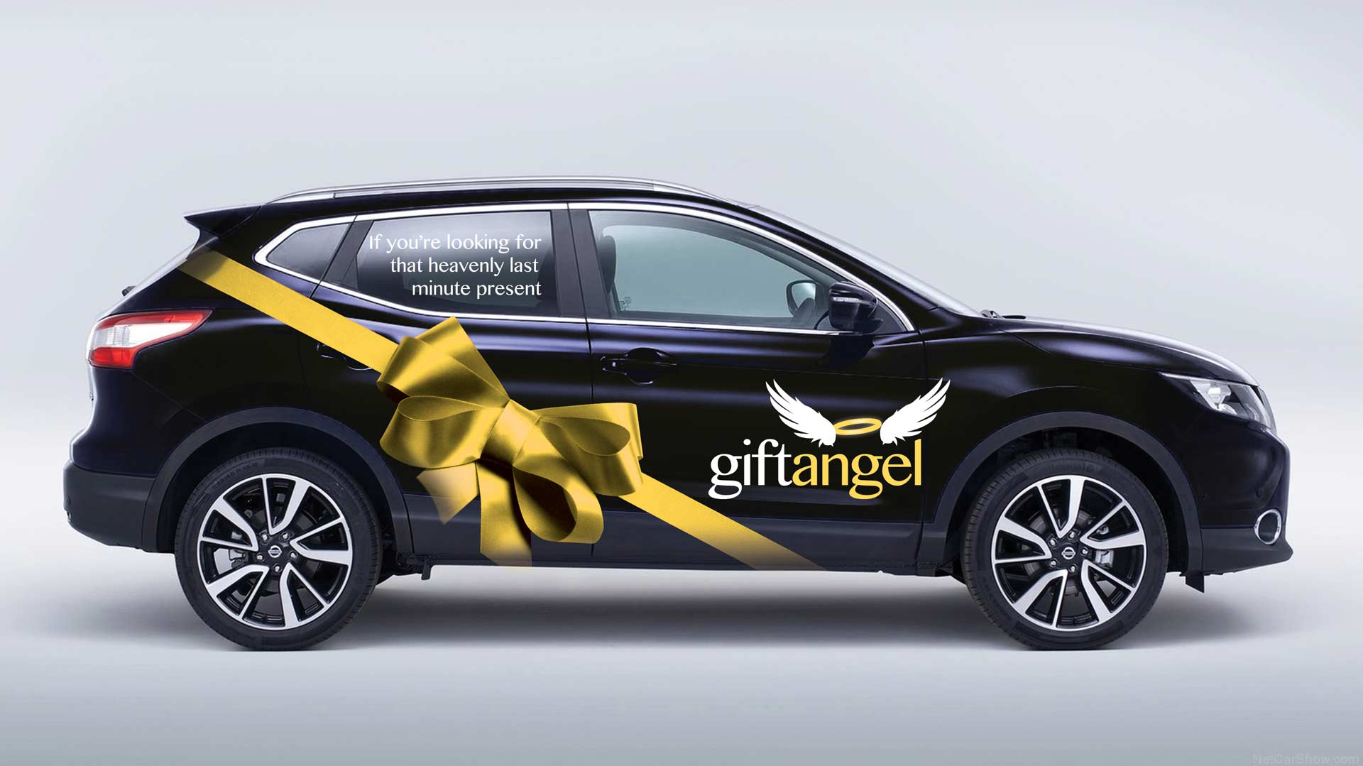 Gift Angel Vehicle Livery Graphic Design