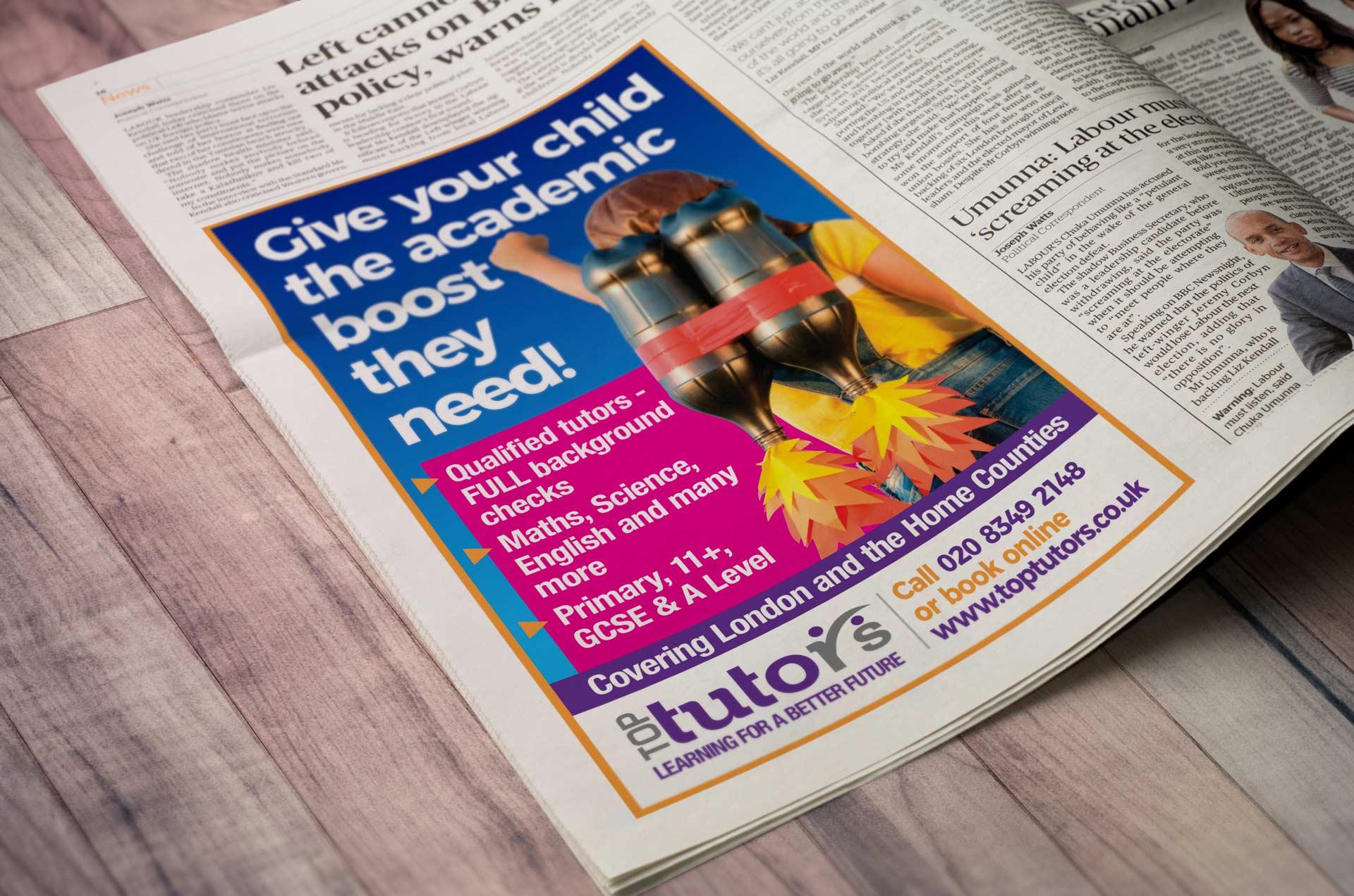 Top Tutors Advert Mockup Client Version