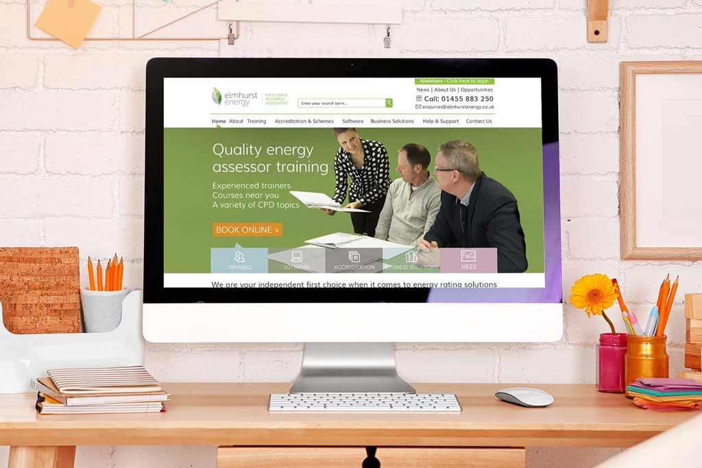 Elmhurst Energy Website Graphic Design Thumbnail