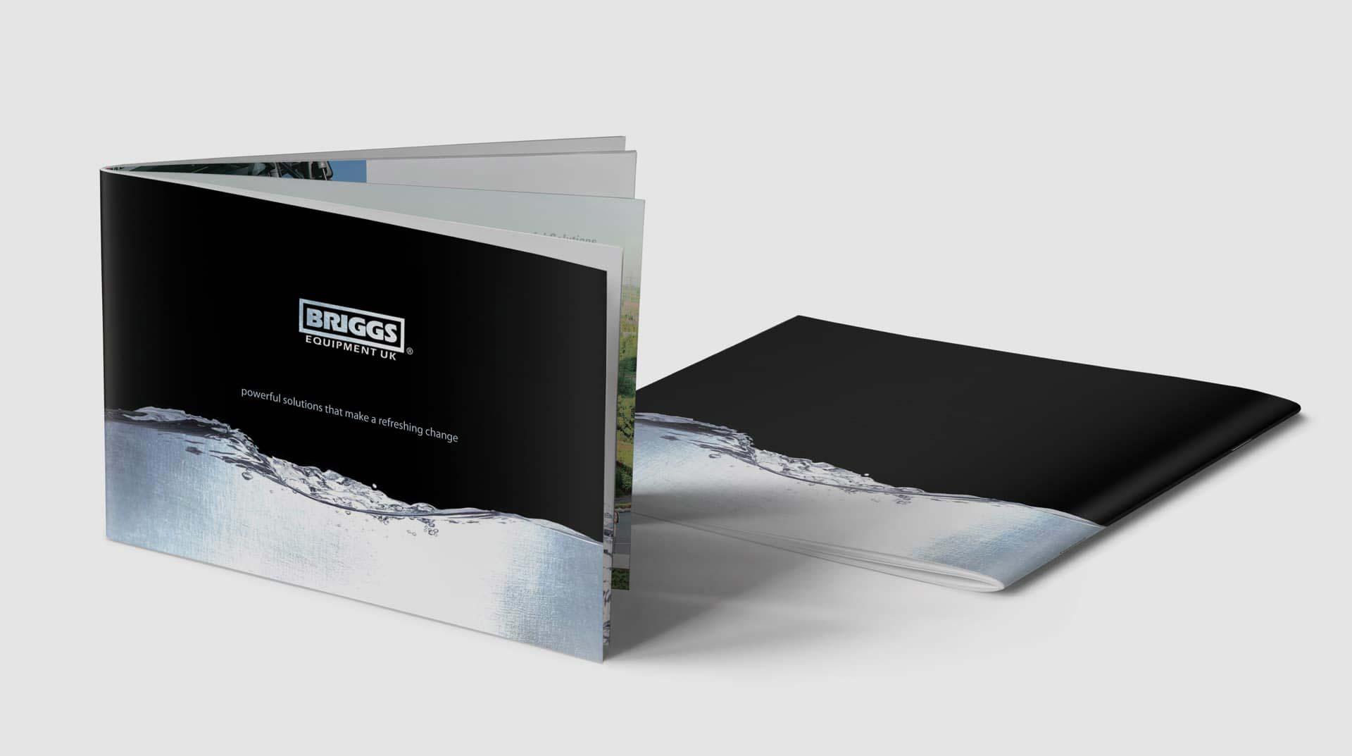 Briggs Equipment Brochure Covers