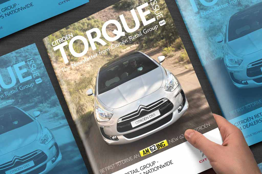 Citroen Torque Magazine Design Featured Image
