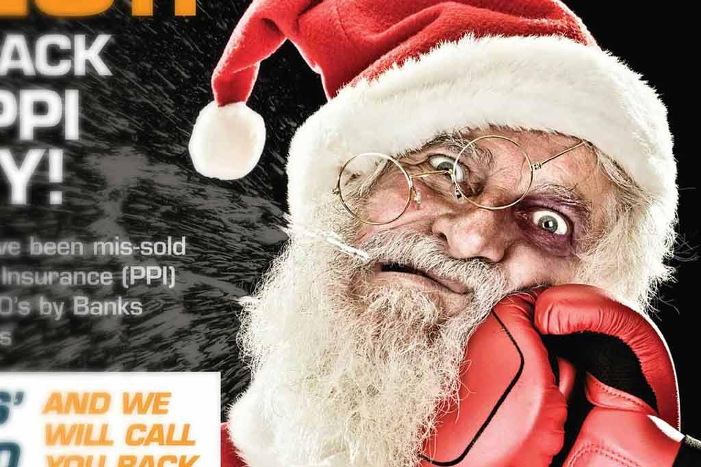 Knockout Christmas PPI Advert