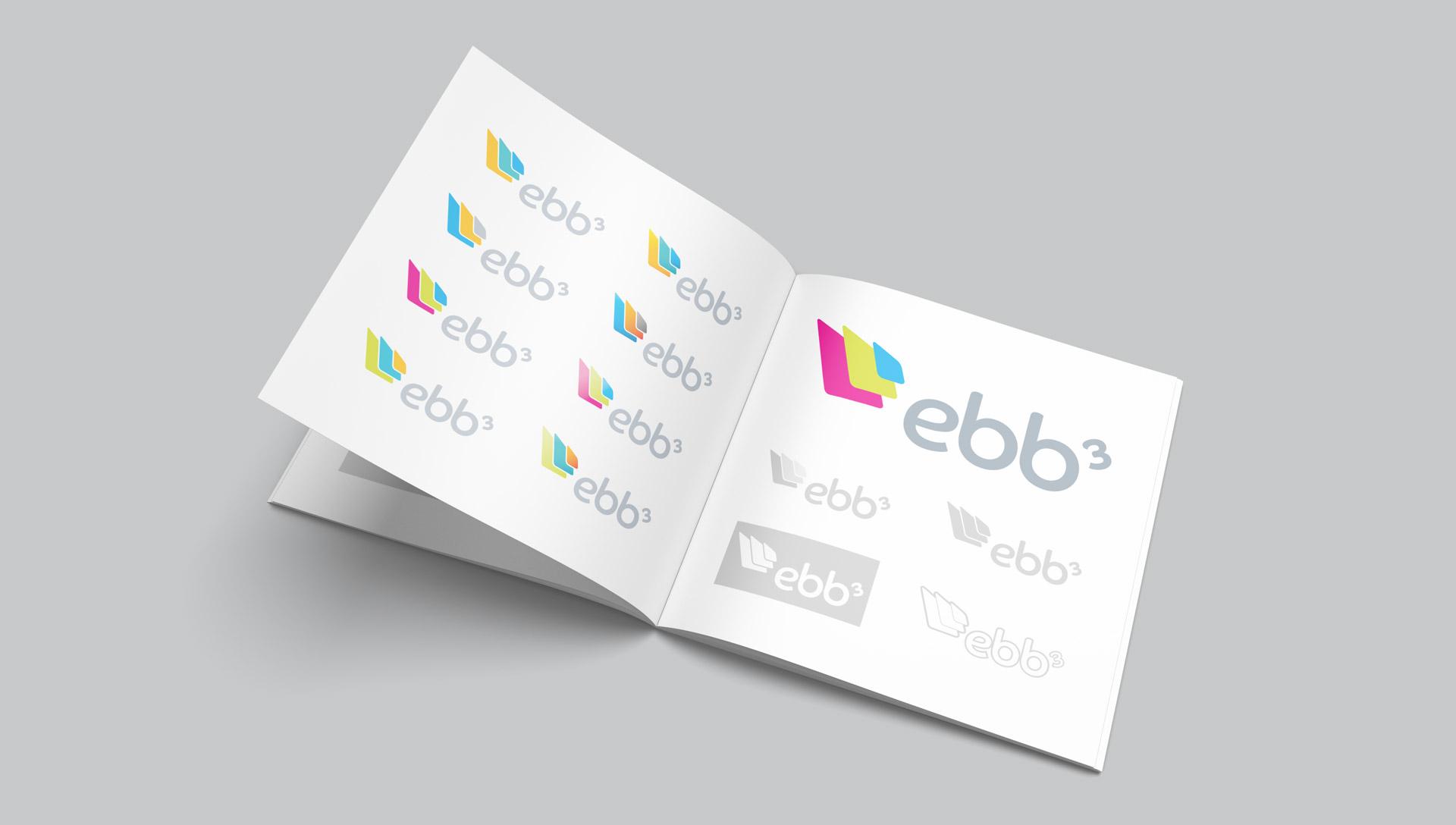 ebb3 logo design branding system